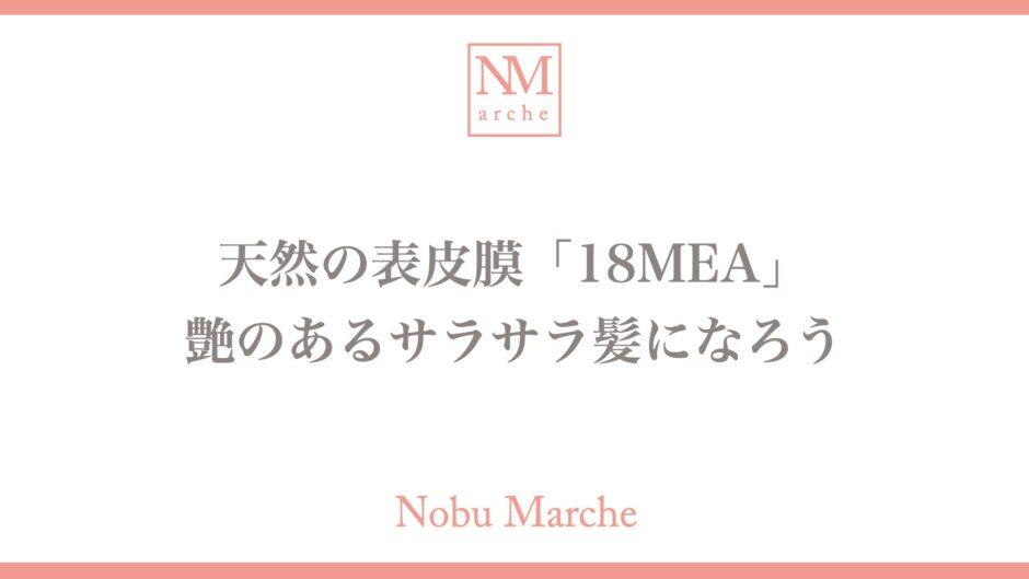 【効果を解説】シャンプーの配合成分「18MEA」は要チェック!さらさら髪になろう